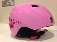 Kids Pink Giro Ski helmet XS/S