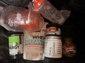 Phd USN OPTIMUM Nutrition protein supplement bundle