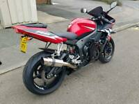 Yamaha r6 600 yzf very low miles