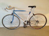 Raleigh Race Bred road racing bike, lightweight, fast, clean
