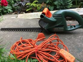 Black &Decker hedge trimmer