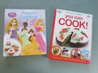 Disney Princess Cookbook & DK Annabel Karmel You Can Cook