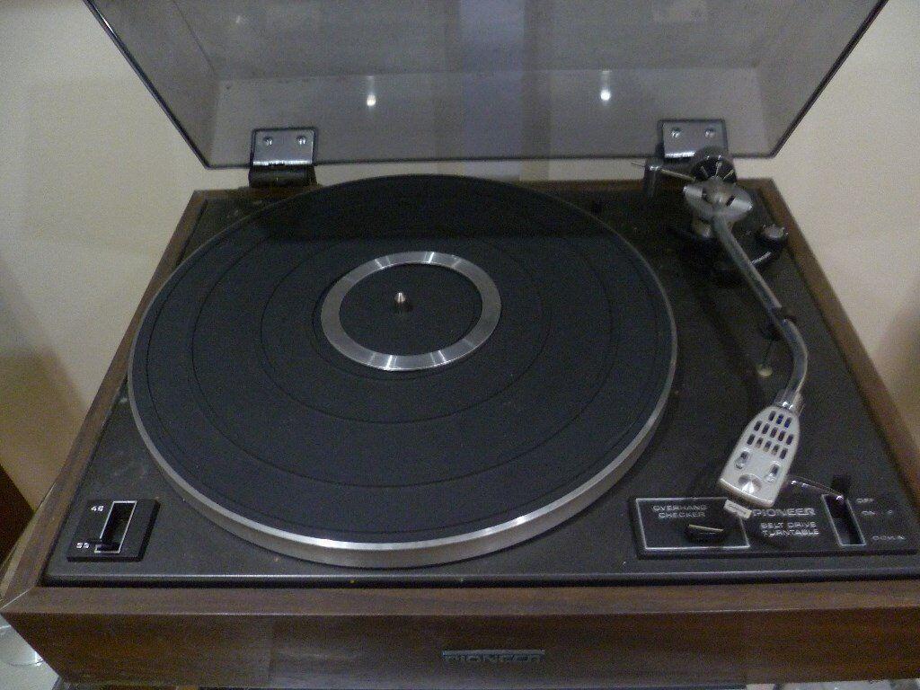 Pioneer Pl 12d Vintage Belt Drive Turntable Record Player