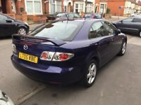 2005 Mazda 6 petrol,11 months mot,service history,ac,cd,alloys,no rust,excellent runner,2 keys,clean