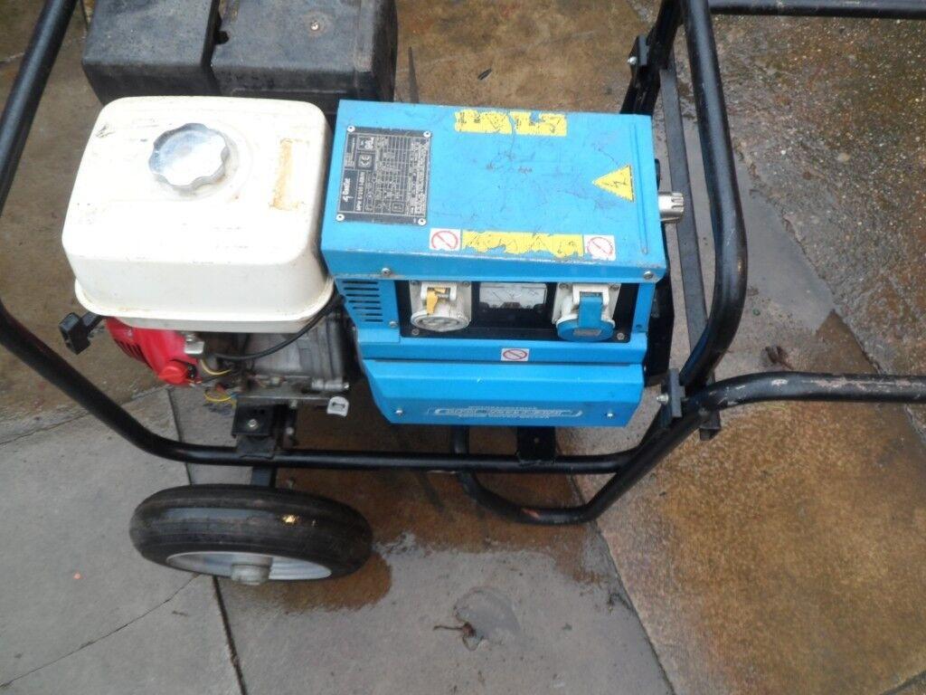 Honda Portable Welder Genset Generator MPM 5/225 I-EB/H 200 Amps ...