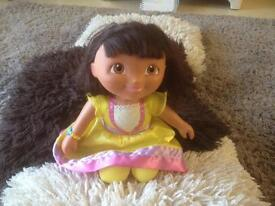 Talking Dora explorer doll