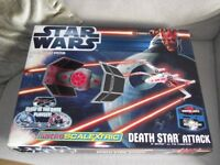 NEW MICRO SCALEXTRIC STAR WARS DEATH STAR ATTACK SET