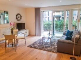 LUXURY 1 BEDROOM APARTMENT WITH LARGE PRIVATE BALCONY / TERRACE GREENWICH SE18 LEWISHAM BLACKHEATH