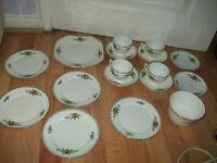 Crown Chateau China tea set, see the photos, nice tea set
