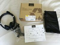 Job lot computer 4 headsets 2 * Jabra (UC Voice 550) 2* Plantronics (Blackwire C325-M)