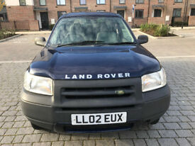 2002 FREELANDER 4X4 DRIVE SUPERB LONG MOT/jeep/honda crv/suzuki vitara
