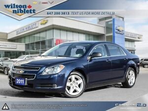 2011 Chevrolet Malibu LS 1 OWNER, ACCIDENT FREE