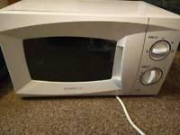 Small White Daewoo Microwave