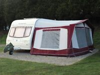 Avondale Rialto 535 5 berth caravan with full Bradcot awning and lots of extras