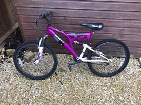 Girls mountain bike for age 7 year old and up
