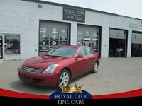 2003 Infiniti G35 Sunroof, leather, heated seats, spoiler