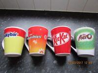 Easter Egg Mugs (Set of 4)
