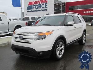 2015 Ford Explorer Limited w/Pass-Thru Rear Seating, 38,190 KMs