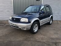 2004 SUZUKI GRAND VITARA 2.0 DIESEL *** FULL YEARS MOT *** similar to shogun sx4 discovery