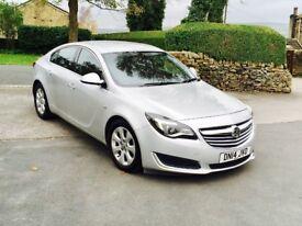 2014 14 Vauxhall Insignia 2.0 CDTI TECHLINE ECO S/S 160 Silver 5 Door **FACELIFT MODEL** SAT NAV PX