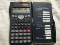 Casio FX-85 MS Scientific Calculator with Case, Excellent Condition + MORE ITEMS for SALE