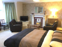Self-contained fully furnished self-catering flat to rent on Morecambe promenade.