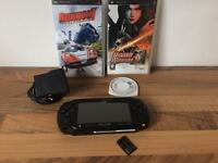 SONY PSP STREET GAMES CONSOLE