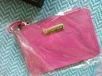 St John Pink leather card holder wallet