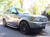 2009 LAND ROVER RANGE ROVER SPORT 3.6 TDV8 HSE 107500 MILES FULL SERVICE HISTORY NEW TURBO'S FITTED