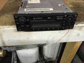 Volkswagen beta radio cassette