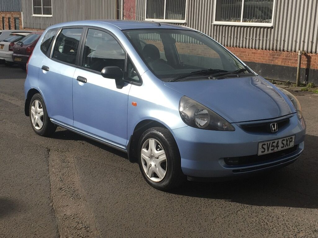 HONDA JAZZ 1.4 2004 54 REG TWO OWNERS SERVICE HISTORY LONG MOT 2018 GOOD RUNNER ANY P/X WELCOME ...