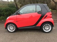 SMART CAR RED DIESEL F/MERCEDES/SMART/S/H 1 YEARS MOT PANORAMIC ROOF