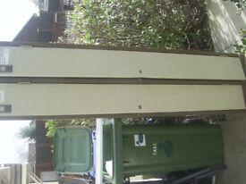 Double door locker ideal for work shop/garage allotment etc