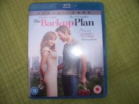 """A film DVD """"The Back-up Plan""""."""
