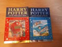 2 harry potter books