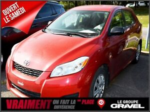 2013 Toyota Matrix AIR CLIM BLUETOOTH Gr ÉLEC COMPLET
