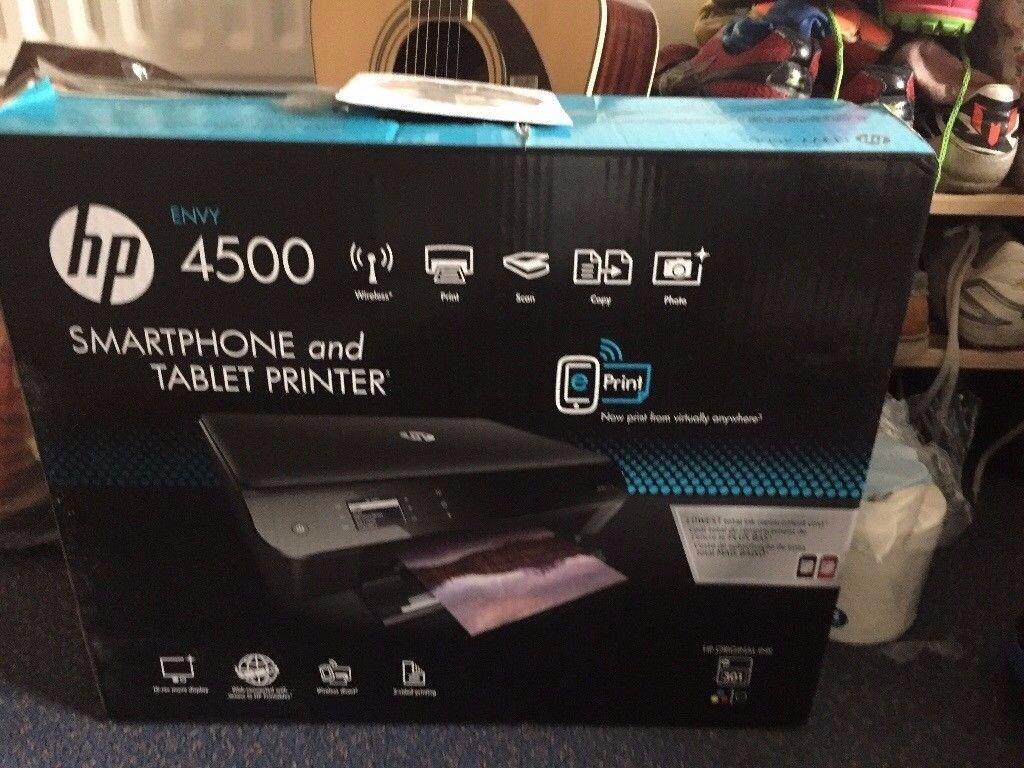 Hp envy 4500 printer cost £120! laptop smartphone tablet
