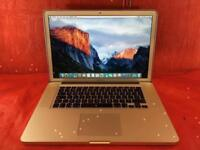 Macbook Pro 15inch A1286 [Matt Screen] 2.53Ghz Intel core 2 duo 4GB Ram 500GB 2009+ WARRANTY,