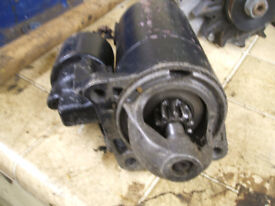 ford fiesta/escort starting motor from 1980s 1990s reconditioned will fit lots of vehicles
