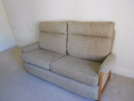 Immaculate 3 seater sofa, AS NEW.