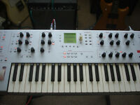 ALESIS ION ANALOGUE MODELLING SYNTH , HEAVY DUTY STAND , HARD CASE ,ORIGINAL BOX, MANUAL.