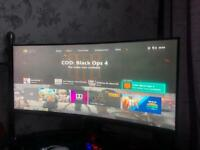 35 inch rog strix monitor perfect screen curved
