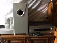 Quadral Sub + Speaker surround system + Yamaha amplifier