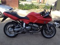 BMW r1100s sports touring motorcycle