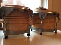 Rosetti Bongo Drums with case and tuner