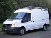 2007(07) FORD TRANSIT T280 MWB SEMI HIGH, ONE OWNER FROM NEW, READY TO GO STRAIGHT TO WORK, NO VAT!!
