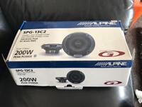 Brand new Alpine G type speakers - 5.25 inch