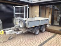 Ifor Williams tipping trailer TT2515 electric