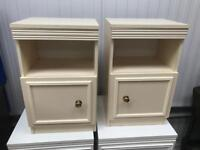 Pair of bedside cabinets FREE DELIVERY PLYMOUTH AREA