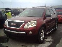 2007 GMC Acadia SLE 3.6L AWD 7 PASS GROUPE ELECTRIC